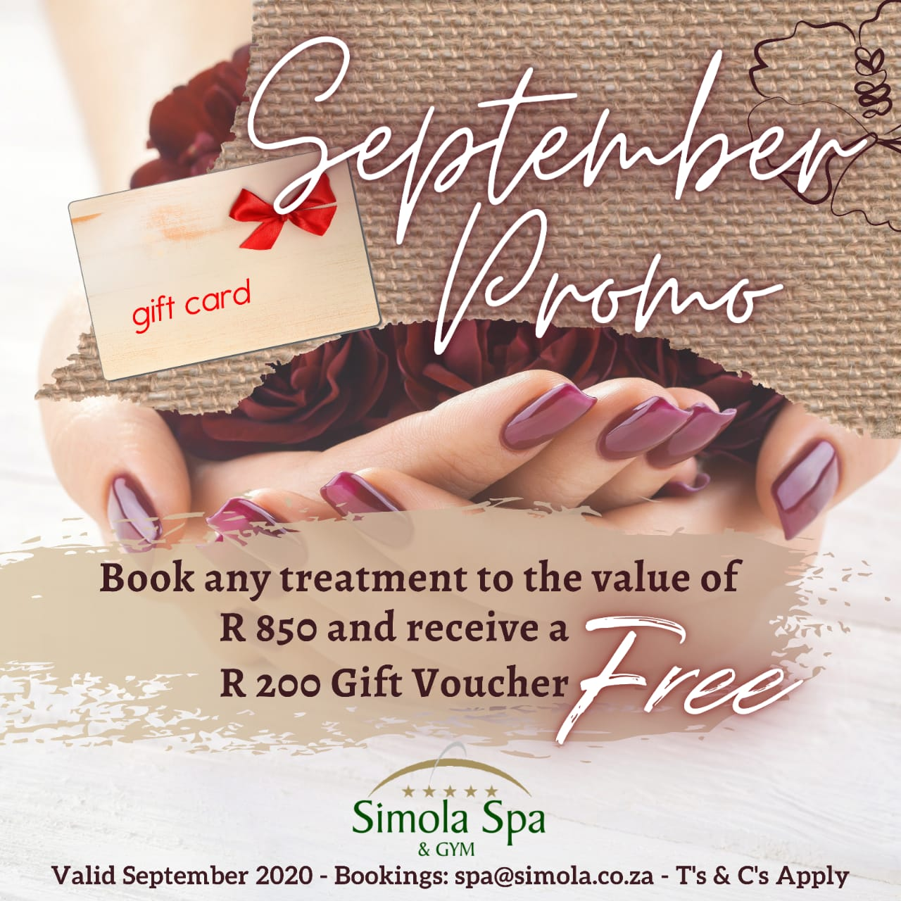Simola Spa September Promo